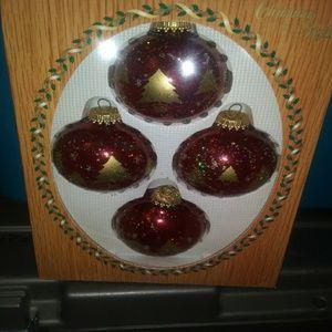 Hand blown Vintage Kerbs ornaments (12)